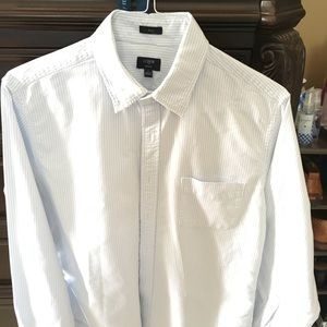 J. Crew Men's long sleeve Oxford shirt